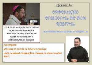 Ordenação e posse do novo bispo da Diocese de Grajaú